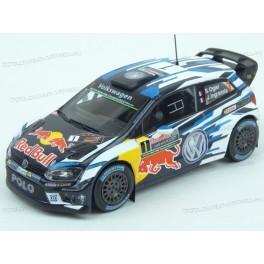 Volkswagen Polo R WRC Nr.1 Red Bull Rally Australia 2016, IXO Models 1:43