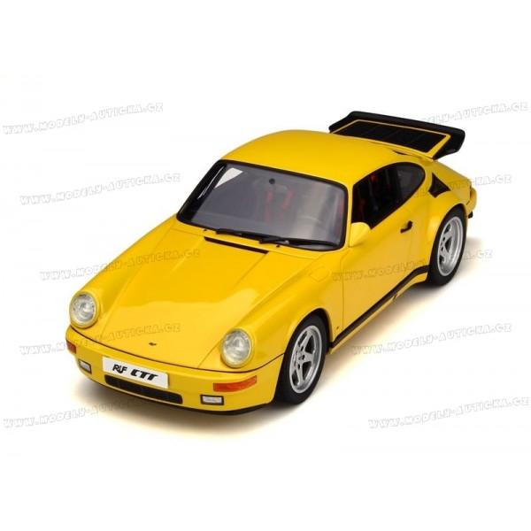 porsche 911 type 964 ruf ctr yellow bird 1987 gt spirit 1 18 model. Black Bedroom Furniture Sets. Home Design Ideas