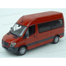 Mercedes Benz (W906) Sprinter Bus Facelift 2014 (Red), Premium ClassiXXs 1:43