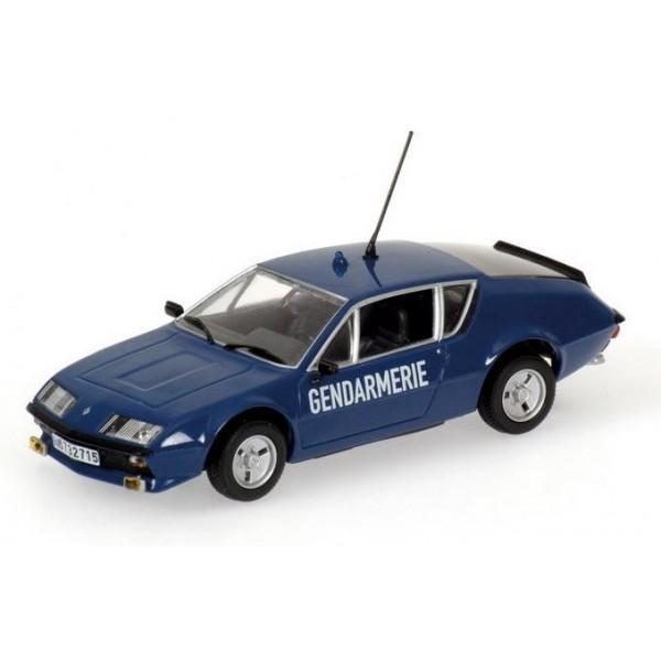 renault alpine a310 gendarmerie minichamps 1 43. Black Bedroom Furniture Sets. Home Design Ideas