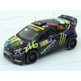 Ford Fiesta RS WRC Nr.46 Winner Monza Rally 2012, IXO Models 1/43 scale