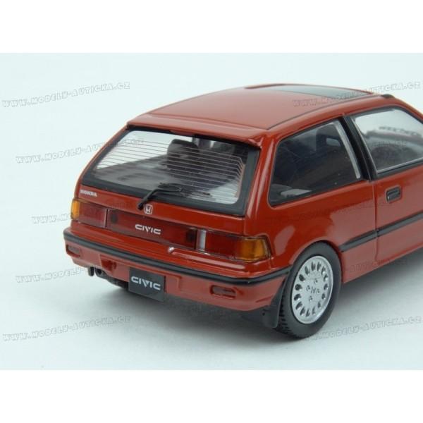 Honda civic 1987 first 43 models 1 43 for Different honda civic models