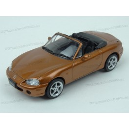 Mazda MX-5 (NB) 2001 open roof, First 43 Models 1/43 scale