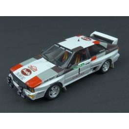 Audi Quattro A2 Nr.1 Rally Portugal 1983 (2nd place), Trofeu 1/43 scale