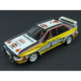Audi Quattro A2 Nr.4 Rally Portugal 1984 (6th place), Trofeu 1/43 scale