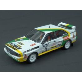 Audi Quattro A2 Nr.6 Winner Barum Rallye 1986, Trofeu 1/43 scale