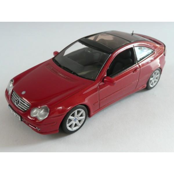 Mercedes benz c class sport coupe minichamps 1 43 model - Mercedes benz c class sport coupe ...