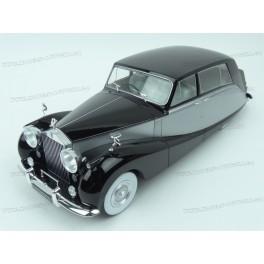Rolls Royce Silver Wraith Empires by Hooper 1956 (Black/Silver), MCG (Model Car Group) 1/18 scale