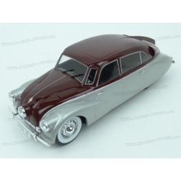 Tatra T87 1937 (Silver/Red), MCG (Model Car Group) 1:18