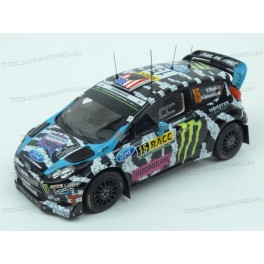 Ford Fiesta RS WRC Nr.15 Rally Catalunya 2014, IXO Models 1/43 scale