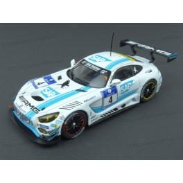 Mercedes AMG GT3 Nr.4 Winner 24h Nürburgring 2016, IXO Models 1/43 scale