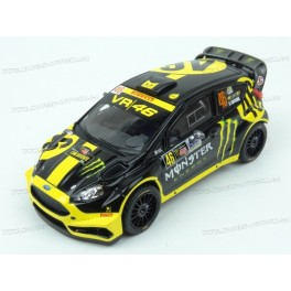 Ford Fiesta RS WRC Nr.46 Rally Monza 2014 model 1:43 IXO Models RAM603
