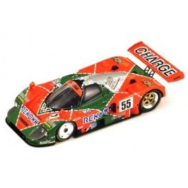 Mazda 787 B Nr.55 Winner Le Mans 1991, SPARK 1:43