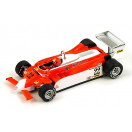 Alfa Romeo 179 Nr.22 Dutch GP 1980, SPARK 1:43