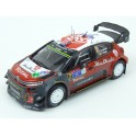 Citroen C3 WRC Nr.7 Winner Rally Mexico 2017 (Championship Rally) model 1:43 IXO Models RAM638B