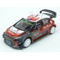 Citroen C3 WRC Nr.7 Rally Monte Carlo 2017 (Championship Rally) model 1:43 IXO Models RAM638