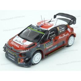 Citroen C3 WRC Nr.7 Rally Monte Carlo 2017 (Championship Rally), IXO Models 1/43 scale