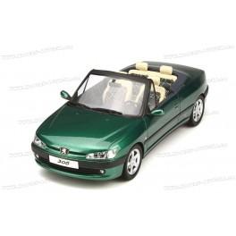 Peugeot 306 Cabriolet Roland Garros 1999, OttO mobile 1/18 scale