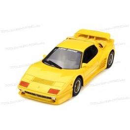 Koenig-Specials 512 BBi Turbo (Ferrari 512 BBi) 1983 (Yellow), GT Spirit 1/18 scale