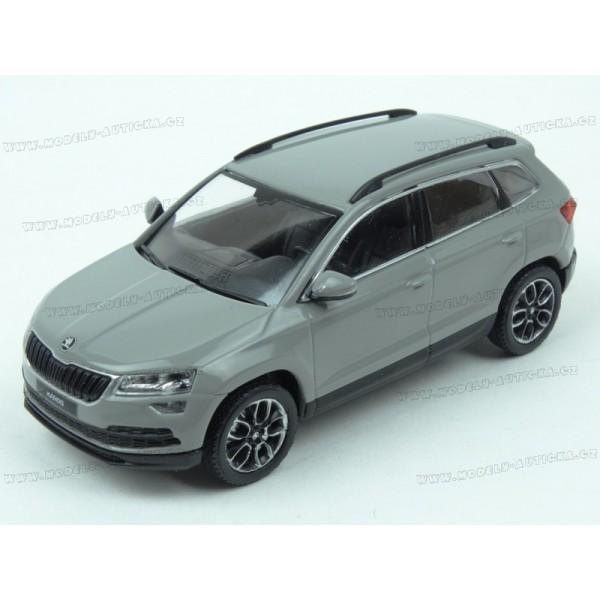 85c6bf2b81652 Škoda Karoq 2017 (Grey) model 1:43 IXO Models IX-5A7099300F7A ...