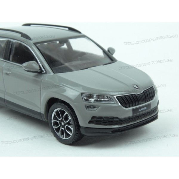18bd31737c1f0 ... Škoda Karoq 2017 (Grey) model 1:43 IXO Models IX-5A7099300F7A ...