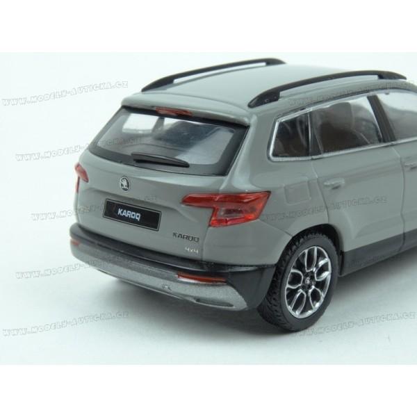 461a20018bc42 ... Škoda Karoq 2017 (Grey) model 1:43 IXO Models IX-5A7099300F7A