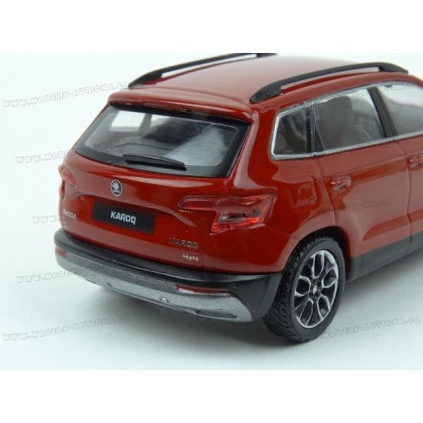 3f6a0d867478c ... Škoda Karoq 2017 (Red) model 1:43 IXO Models 5A7099300F3P
