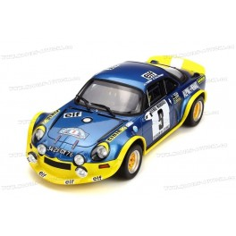 Renault Alpine A110 Turbo Nr.9 Winner Rally Critérium des Cévennes 1972 model 1:18 OttO mobile OT246