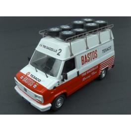 Fiat Ducato Bastos Rally Assistance, IXO Models 1/43 scale