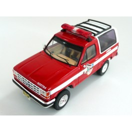 Ford Bronco II Fire Department Camden New Jersey 1990, Premium X Models 1:43