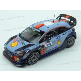 Hyundai i20 Coupe WRC No.4 Rally Portugal 2017, IXO Models 1/43 scale