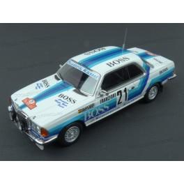 Mercedes Benz (C123) 280 CE Nr.21 Boss Rallye Monte Carlo 1980, Neo Models 1/43 scale