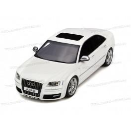 Audi S8 (D3) 2008 (White), OttO mobile 1/18 scale