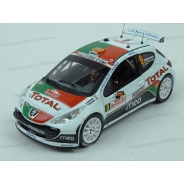 Peugeot 207 S2000 Nr.9 Rally Monte Carlo 2010 model 1:43 IXO Models RAM424
