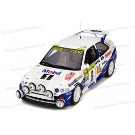 Ford Escort RS Cosworth 4X4 Gr.A Nr.6 Winner Rallye Monte Carlo 1994, OttO mobile 1/18 scale