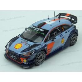 Hyundai i20 WRC Nr.5 Rally Monte Carlo 2017 (Championship Rally), IXO Models 1/43 scale