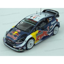 Ford Fiesta WRC Nr.1 Winner Rally Monte Carlo 2018 model 1:43 IXO Models RAM661