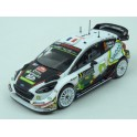 Ford Fiesta WRC Nr.3 Rally Monte Carlo 2018 model 1:43 IXO Models RAM666
