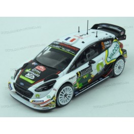 Ford Fiesta WRC Nr.3 Rally Monte Carlo 2018, IXO Models 1/43 scale