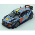 Hyundai i20 Coupe WRC Nr.4 (nebo Nr.5) Rally RACC Catalunya (Spain) 2017 model 1:43 IXO Models RAM645B