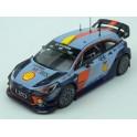 Hyundai i20 Coupe WRC Nr.4 (or Nr.5) Rally RACC Catalunya (Spain) 2017, IXO Models 1/43 scale