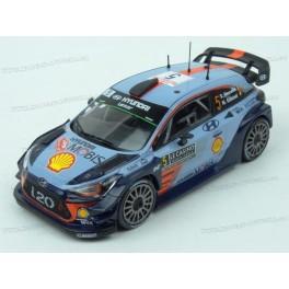 Hyundai i20 WRC Nr.5 Rally Monte Carlo 2017 (with Decals on Car), IXO Models 1/43 scale