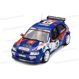 Citroen Saxo Kit Car Nr.49 Tour de Corse 1999, OttO mobile 1/18 scale