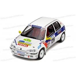 Peugeot 106 Rallye Gr. N Nr.126 Rallye National des Vins Mâcon 1997, OttO mobile 1/18 scale