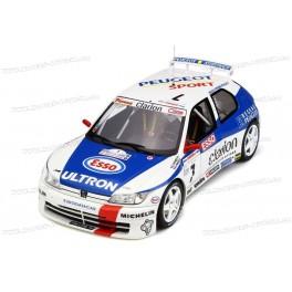 Peugeot 306 Maxi Phase 1 Nr.7 Rallye Tour de Corse 1996, OttO mobile 1/18 scale