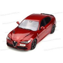 Alfa Romeo Giulia Quadrifoglio 2016, OttO mobile 1/18 scale