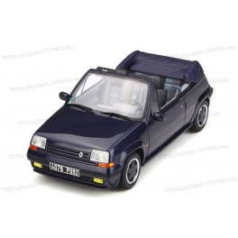 Renault 5 GT Turbo Cabriolet by EBS 1990, OttO mobile 1/18 scale