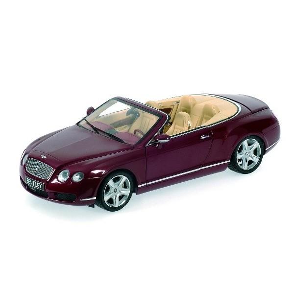 Minichamps 1 18 Bentley Continental Gtc 2006 Silver: Bentley Continental GTC Cabrio 2006, Minichamps 1:18 Model