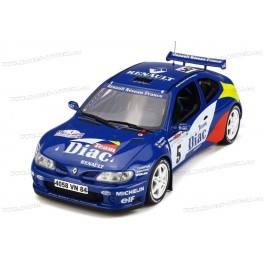 Renault Megane Maxi Kit Car Nr.5 Winner Rallye Tour de Corse 1996, OttO mobile 1/18 scale
