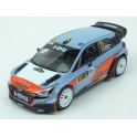 Hyundai NG i20 WRC No.11 Hyundai Motorsport Rally Monza 2017 model 1:43 IXO Models RAM660